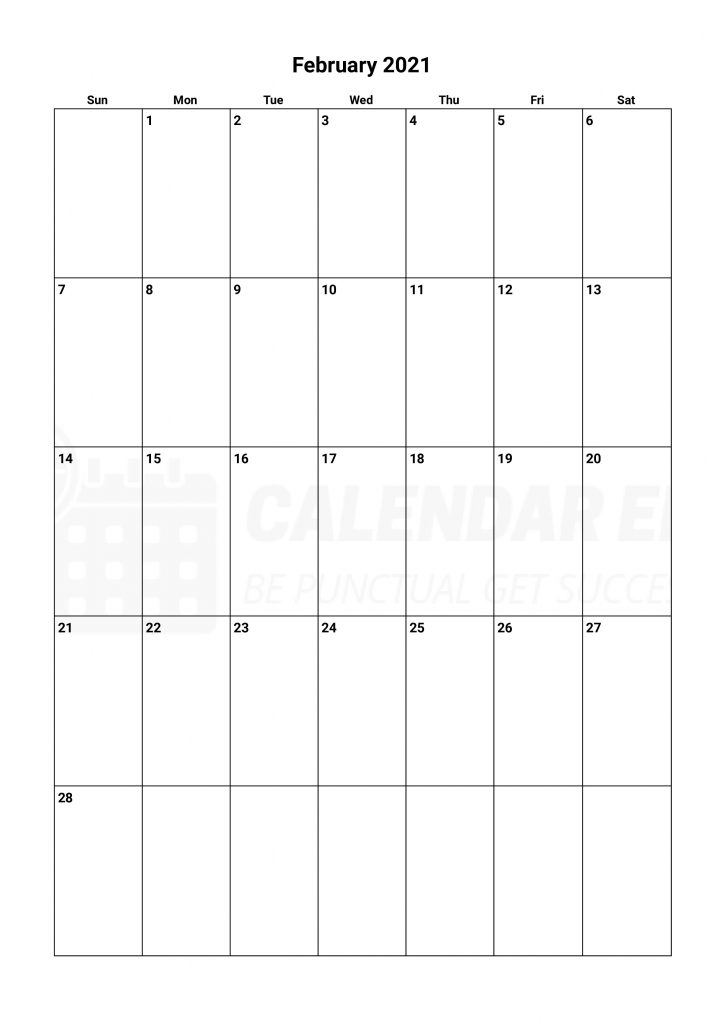 Best February 2021 calendars printable to download now