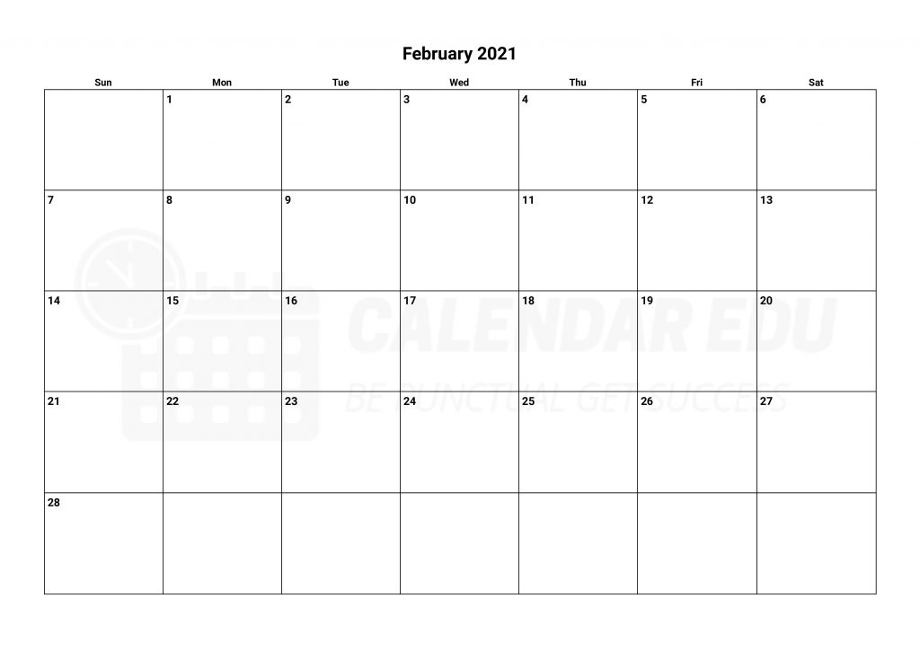 Top February 2021 calendar templates to download for free